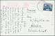 """Beleg 1937, 10 S. Freimarke Blau Auf AK """"S.S. Hakone Maru"""" Und St. Colombo Paquebot Nach München (Michel: 179) - Francobolli"""