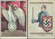 Beleg 1934/37, 2 Verschiedene Reichsparteitagskarten, Echt Gelaufen - Postzegels