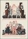 Beleg 1937, 6 Pf. Hindenburg, Grußkarte Vom NSDAP-Lehrgang Mit SSt Zum Tag Der Briefmarke, Fr. 65.- (Michel: 127 C 35) - Briefmarken