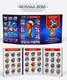 Russia, Football World Cup 2018, Famous Players 36 Coins X 1 Rbl In Album - Russia