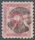 Japan: 1876, IMPERIAL JAPANESE POST 12 Sen Rose Fine Perf. And Used With Kobe-cancelation Mi.260,- - Japan
