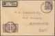 Malaiische Staaten - Johor: 1937 SCUDAI: Registered Cover From Scudai To Alexandria, Egypt Via Johor - Johore