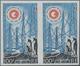 Französische Gebiete In Der Antarktis: 1963, 100fr. International Year Of The Quiet Sun (Penguins/Ra - French Southern And Antarctic Territories (TAAF)