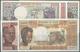 Chad / Tschad: Republique Du Tchad, Set With 5 Banknotes Comprising 500 Francs 1970's P.2a In UNC, 1 - Tschad