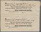 Hannover - Vorphilatelie: 1799, STADE: Vier Zusammenhängende Ortsdruck-Postscheine Für Vier Einliefe - Germania