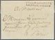 Preußen - Vorphilatelie: 1807 Berlin, Französischer Armeebrief Mit Kompl. Teils Gedrucktem Inhalt Un - Allemagne