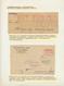 Dt. Besetzung II WK - Luxemburg: 1941/1944, FREISTEMPLER WÄHREND DER BESETZUNG, Kleine Studiensammlu - Besetzungen 1938-45