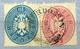 TURDOSSIN 1863. 10+5kr Kivágáson, Szép Bélyegzés  /  1863 10+5  Kr Nice Pmk  Excision - 1850-1918 Imperium