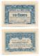 1919 // BANQUE DE L'INDO-CHINE // 6 Octobre 1919 // Bon De 10 Cents - Bonds & Basic Needs