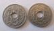 France - 2 Monnaies 25 Centimes Lindauer 1914 - France