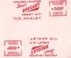 Anglet 1959 Pyrénées Atlantiques Ateliers D'Aviation Louis Breguet Empreintes Machines à Affranchir Avion - Marcophilie (Lettres)