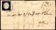 VIGEVANO, Punti 9 - 20 Cent. Azzurro (8),ben Marginato, Su Lettera Da Vigevano 2/12/1854 Ad Asti. A.... - Sardegna