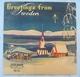 Weihnachten Vinyl LP Greetings From Sweden 1954 Musik WB. 91.046 London - Weihnachtslieder