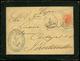 """Ed. 210 - 1884. Carta Cda De Las Palmas A Santander. Marca Ovalada """"Compañía Transatlántica.."""" - 1875-1882 Regno: Alfonso XII"""