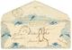 VALENTINE : 1845 T.15 MARSEILLE + Taxe 3 Sur Magnifique Enveloppe VALENTINE. Superbe. - Postmark Collection (Covers)