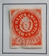 1862 ARGENTINE Y&T 5a Rouge  /  Coats Of Arms In A Circle Neuf Scans Recto Verso - Neufs