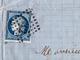 Lettre Puichéric Babou 1872 Aude Carcassonne Figeac Lot Vin Wine - 1871-1875 Cérès