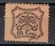 Papal States,Definitive 10 C 1868.,MNH - Etats Pontificaux