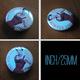 LOVE DOG Golden Retriever BADGE BUTTON PIN SET 1 (1inch/25mm Diameter) 35 DIFF - Tiere