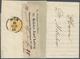 Österreich: 1850, 1 Kr Gelbocker, Handpapier Type I B, Allseits Voll- Bis Breitrandig, übergehend En - Autriche