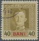 Österreichisch-Ungarische Feldpost - Rumänien: 1917, Kaiser Karl 40 Bani Mit Seltener C-Zähnung L 11 - Austria