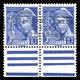 ** Mercure 10c Bleu Surchargé Coudekerque. TTB (certificat)  Qualité: **  Cote: 650 Euros - Kriegsausgaben