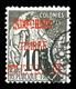 O INDOCHINE, Colis-Postaux: N°2, 10c Noir Sur Lilas Surcharge Vermillon, TB (signé Calves/certificat)  Qualité: O  Cote: - Indochina (1889-1945)