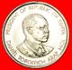 # COCK: KENYA ★ 50 CENTS 1989 MINT LUSTER! LOW START ★ NO RESERVE!  Daniel Toroitich Arap Moi (1978-2002) - Kenya