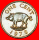 # PIG AND QUEEN (1970-1985): BERMUDA ★ 1 CENT 1978! LOW START ★ NO RESERVE! - Bermudes