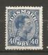 Yv. DK  N°  143  *  Regommé  40o  Christian X   Cote  5,4 Euro BE  2 Scans - 1913-47 (Christian X)