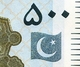 PAKISTAN        500 Rupees        P-49Ai       2017       UNC  [sign. Ashraf M. Wathra] - Pakistan