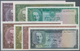 Afghanistan: Interesting Lot Of 7 Banknotes Containing 2 To 100 Afghanis ND P.28,29,30,30A,32,33,34, - Afghanistan