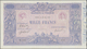France / Frankreich: 1000 Francs 1919 Fay 36.34, Pressed, Light Folds In Paper, Pinholes, Still Nice - France