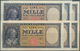 Italy / Italien: Set Of 6 Notes Containing 2x 1000 Lire 1943 P. 82 And 4x 1000 Lire 1947 P. 83, All - [ 1] …-1946 : Royaume