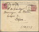 China: 1901. Envelope (small Traces, Vertical Fold And Corner Crease) Addressed To France Headed 'Ap - Zonder Classificatie