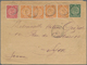 China: 1901. Envelope (creased, Small Tears At Top) Addressed To Lyon Endorsed 'Corps Expeditionnair - China