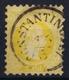 Austrian Post In Levant: Mi 1 II Feiner Druck Perfo K 9,5 Obl./Gestempelt/used Constantinopel - Levante-Marken