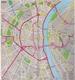 ALLEMAGNE CARTE ROUTIÈRE  N° 4 - ARAL Et PLANS DE VILLE Avec TRANSPORTS EN COMMUN. - Roadmaps