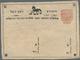 Nepal: 1887/1903 'Horse' Postal Stationery Card ½a., Van Der Wateren No. 16 (Group III, Horse Type 5 - Népal