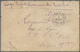 Singapur: 1885. Stampless Envelope Written From Singapore Dated '3rd Mars 1885' Addressed To France - Singapore (...-1959)