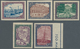 Lettland: 1925, 300 Years Town Libau (Liepaja), Complete Imperforated Set, Mint, Sets Are Rare! (Mi€ - Lettland