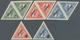 """Lettland: 1933, Ausgesuchter Postfrischer Luxussatz """"Erstflug Lettland-Gambia"""", 10 - 25 In Kehrdruck - Lettland"""