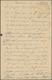 """Deutsche Kolonien - Kamerun - Besonderheiten: 1915 (3.9.), Violetter Gummi-Typensatz-Stempel """"Censie - Kolonie: Kamerun"""