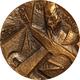 ESPAÑA. MEDALLA F.N.M.T. DON QUIJOTE Y LA IMPRENTA. 1.969. BRONCE. ESPAGNE. SPAIN MEDAL - Profesionales/De Sociedad