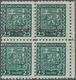 Slowakei: 1939/1941, Specialised Assortment Of 79 Stamps, Incl. 1939 Overprints 25h. Green Block Of - Slowakije
