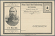 Deutsches Reich - Privatpost (Stadtpost): GIESSEN 1887/92, Umfangreicher Teils Mehrfach Geführter Be - Sello Particular