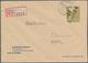 Sowj. Zone - Bezirkshandstempel: 1948, Posten Von Neun Besseren Bezirkshandstempel-Briefen, Dabei Ei - Soviet Zone
