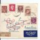 Bloc De Carton Recommandé France-Mauritanie/AOF Avec Timbres Libération Et Publicitaire , 1944 - France
