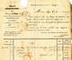 496/28 -  CHARBONNAGES - Lettre Précurseur CHARLEROI 1839 Vers MAUBEUGE - Marque De Rayon B2R - 1830-1849 (Belgique Indépendante)