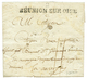 """""""GUISE"""" : 1794 2 REUNION SUR OISE Noir Avec Texte Daté """"CAMP De LEQUIEL"""". TB. - Marcofilia (sobres)"""